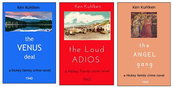 Tom Hickey's War, Three Novels of the 1940s