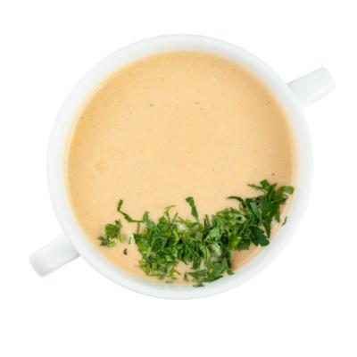 Крем-суп с сёмгой