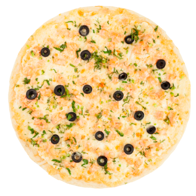 """Пицца """"С сёмгой"""""""