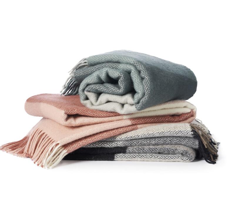 Inez Eco-wollen deken