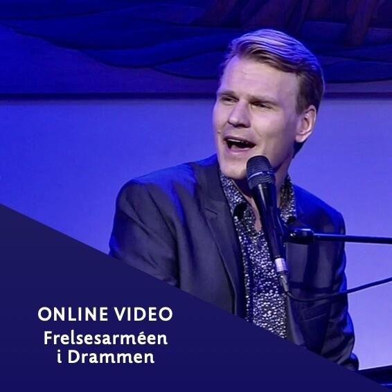 Online video: Konsertopptak fra Frelsesarméen i Drammen