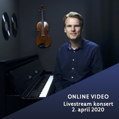Online video: Livestream konsert 2. april 2020