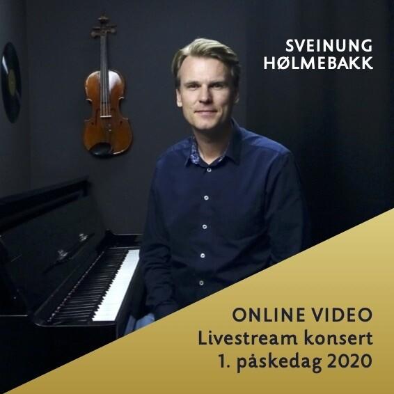 Online video: Livestream påskekonsert 1. påskedag 2020