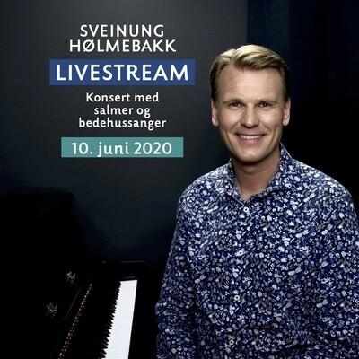 Online video: Livestream konsert med salmer og bedehussanger 10. juni 2020