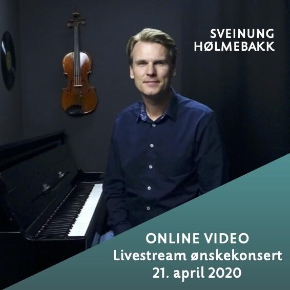 Online video: Livestream ønskekonsert 21. april 2020