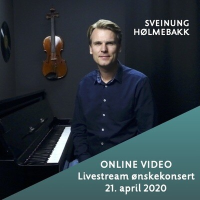 Online video: Livestream ønskekonsert 21. april 2020