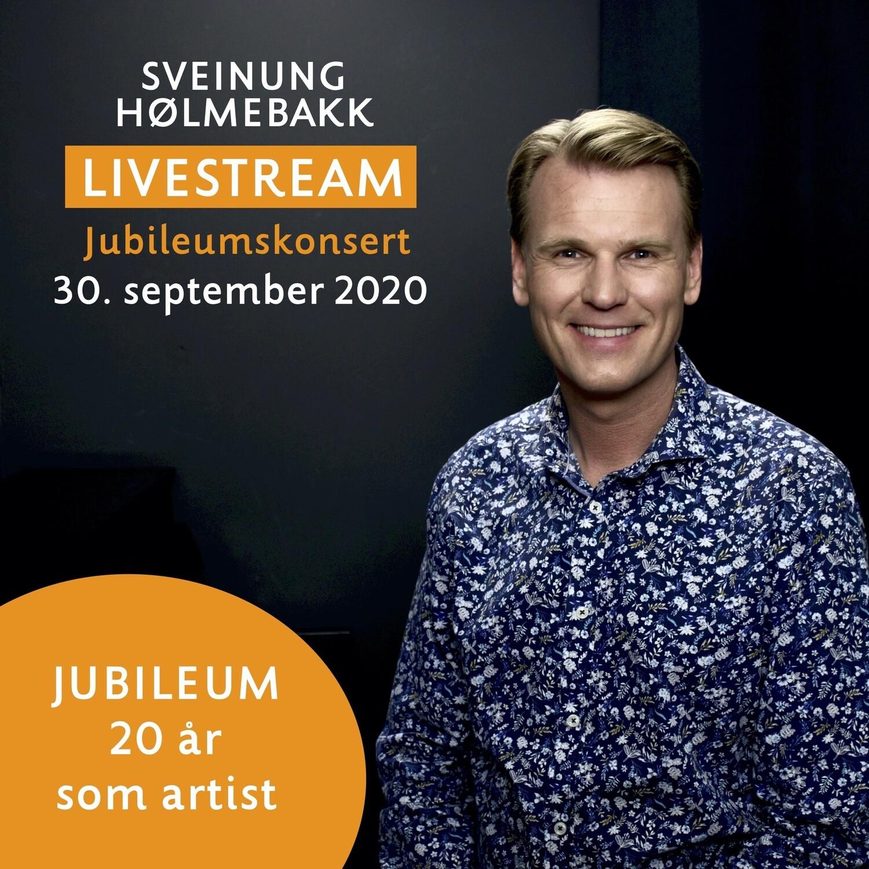 Online video: Livestream jubileumskonsert 20 år som artist