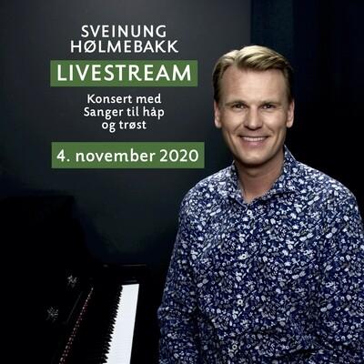 Online video: Livestream konsert med sanger til håp og trøst