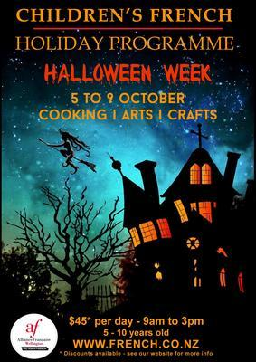 Holiday Programme - Halloween week