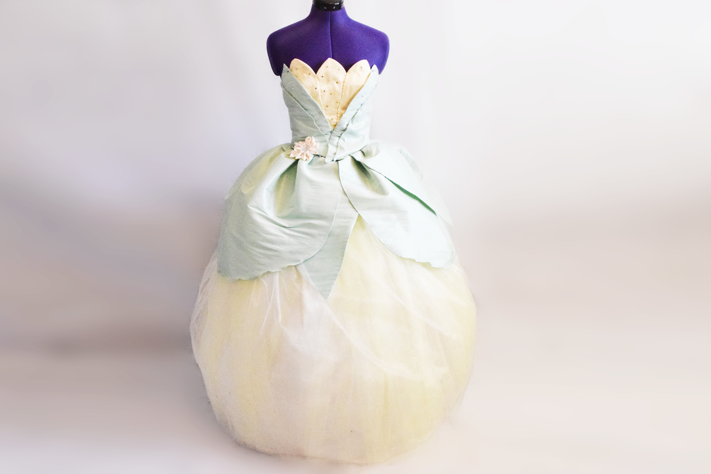 Disney Princess Tiana Inspired Dress