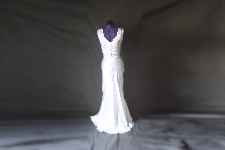 1940's Inspired Wedding Dress