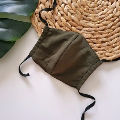 Scuba Face Mask in Olive