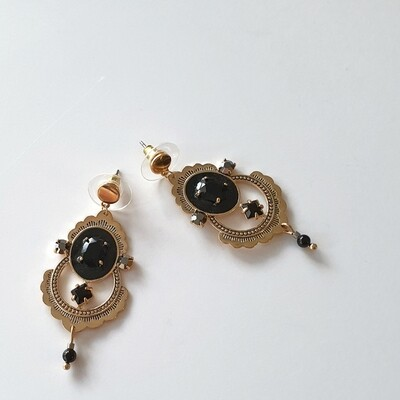 Princess of Persia Earring in Black