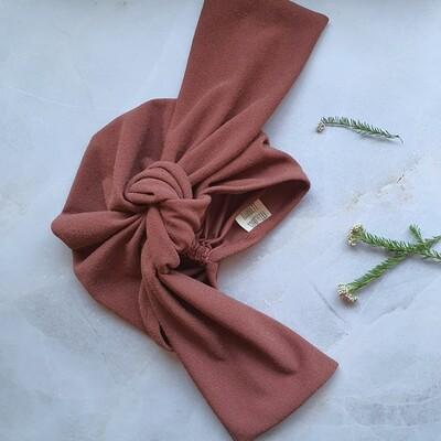 Barbett Cortrelli Dahlia Turban in Shimmer Spice