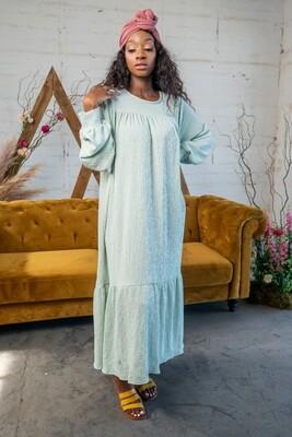 Delilah Dress in Mint