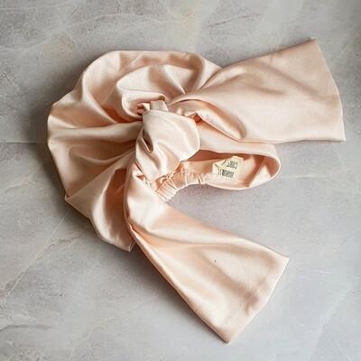 Barbett Cortrelli Dahlia Luxe Turban in Vanilla
