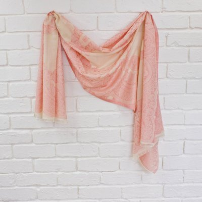 Paisley Scarf in Pretty Pink