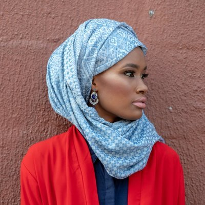 Casablanca Scarf in Blue