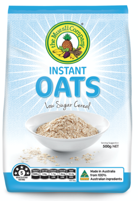 Instant Oats 500g x 6 (free shipping)***