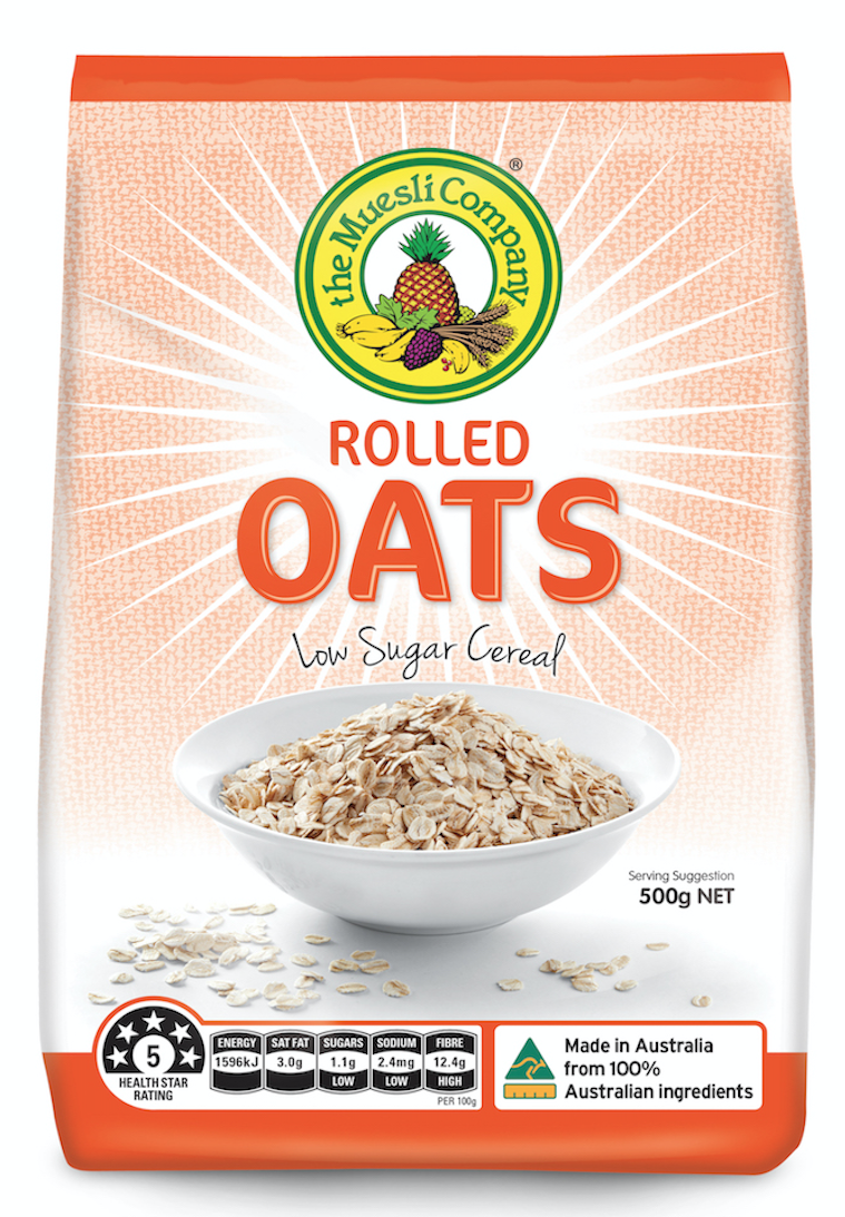 Rolled Oats 500g x 6 (free shipping)***