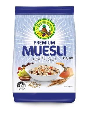 Premium Muesli 750g x 6 (free shipping)***
