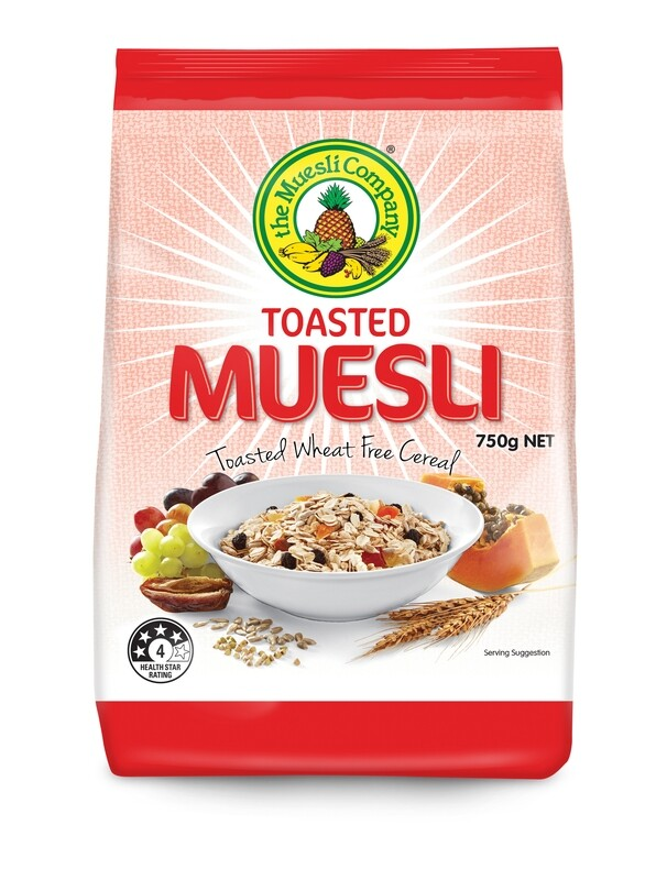 Toasted Muesli 750g x 6 (free shipping)***