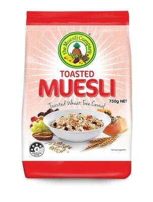 Toasted Muesli 750g x 6 (free shipping)***