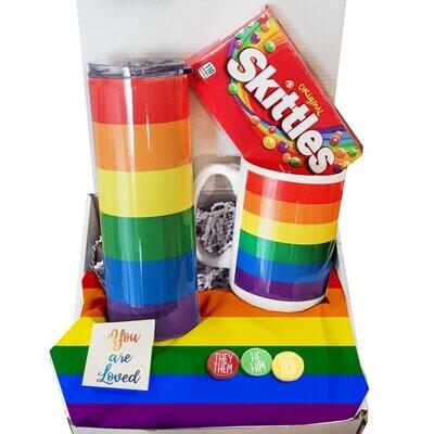 Rainbow mug or tumbler