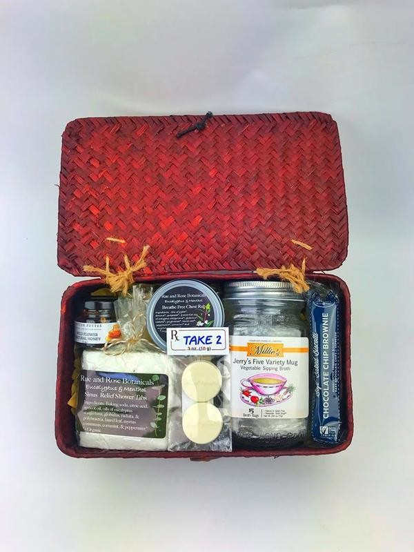 Cold & Flu Relief Basket