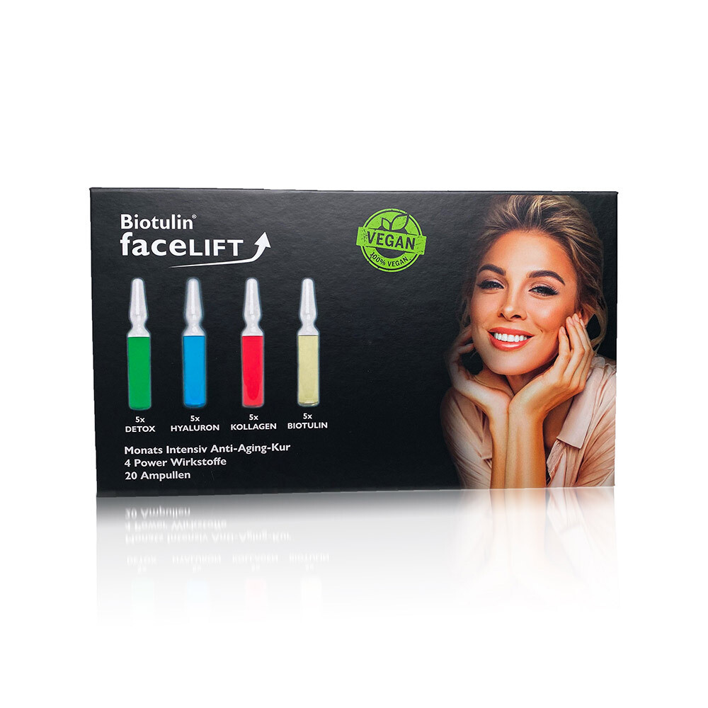 Facelift - vegane Ampullen - 20 x 1ml
