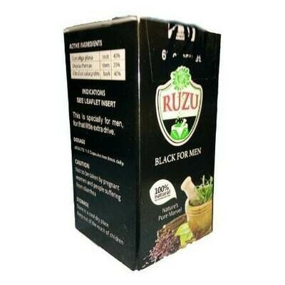 Ruzu Black For Men  Capsules X 3