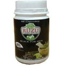 Ruzu Black Capsules  (6 Capsules)