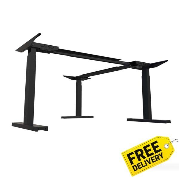 Activ Expandable L-Shape Kit | Electric Sit Stand Frame Only