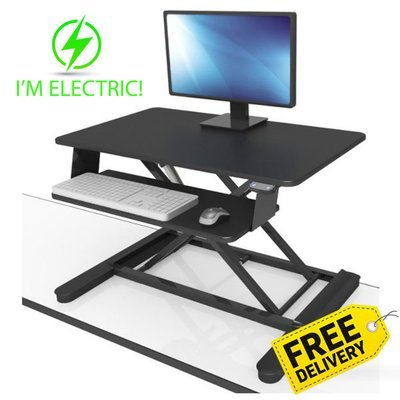 MaxiShift-E | Electric Sit Stand Desktop Units