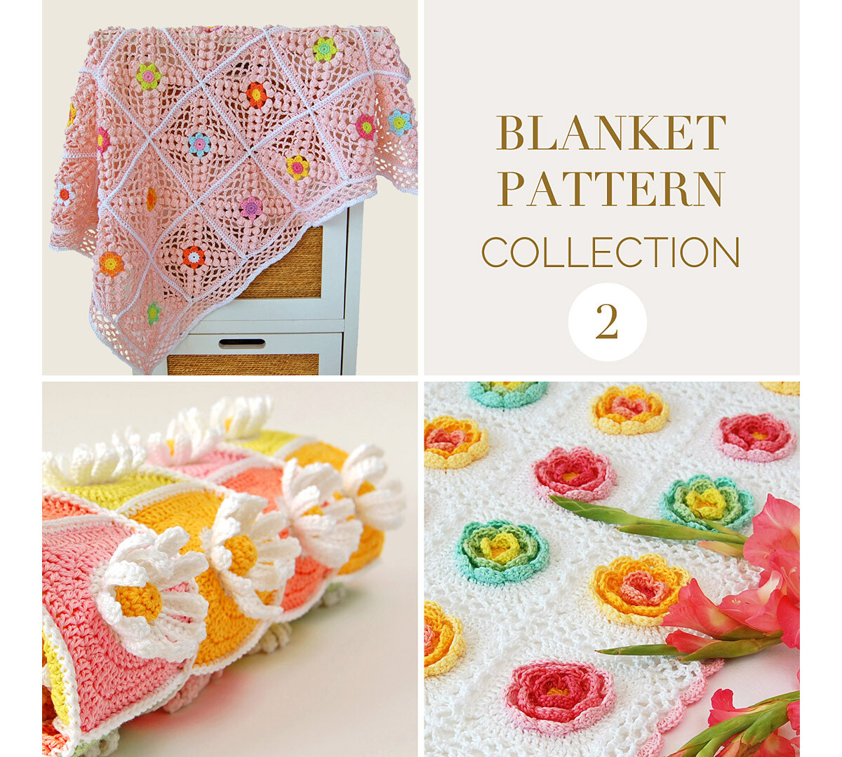 CROCHET BLANKET PATTERN COLLECTION 2