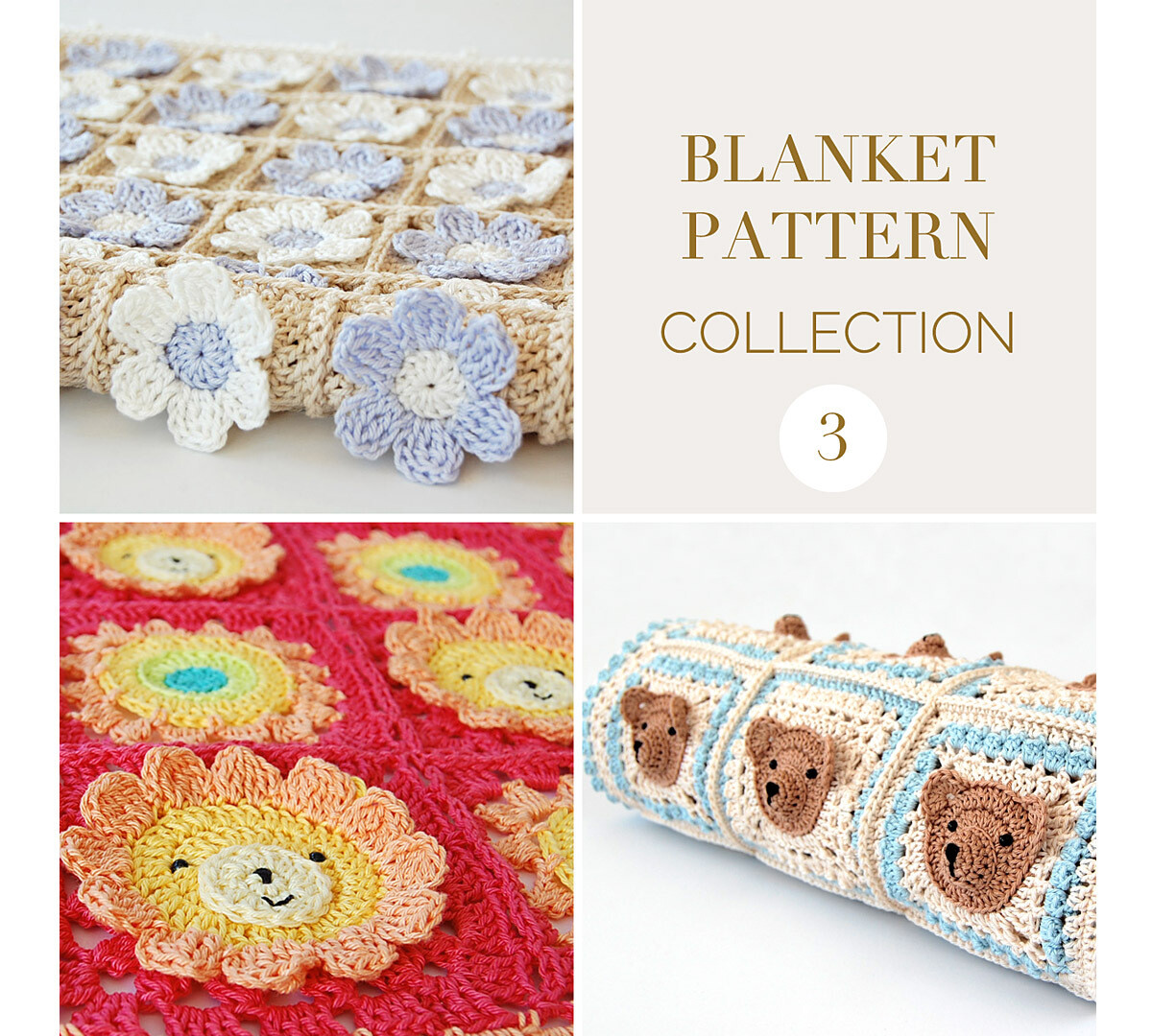 CROCHET BLANKET PATTERN COLLECTION 3