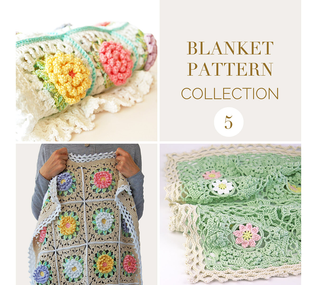 CROCHET BLANKET PATTERN COLLECTION 5