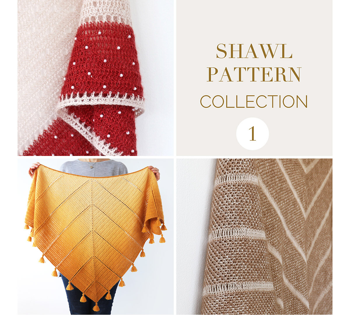 CROCHET SHAWL PATTERN COLLECTION 1