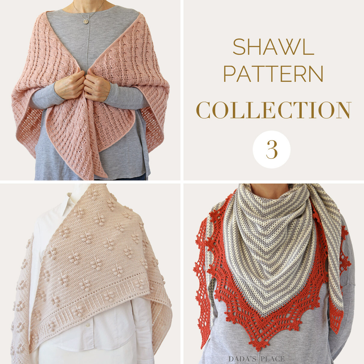 CROCHET SHAWL PATTERN COLLECTION 3