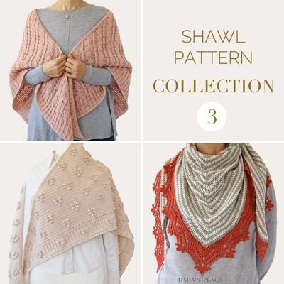 CROCHET SHAWL PATTERN COLLECTION 3