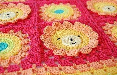CROCHET PATTERN: Little Lion Baby Blanket