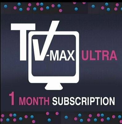 1 month Vmaxtv subscription