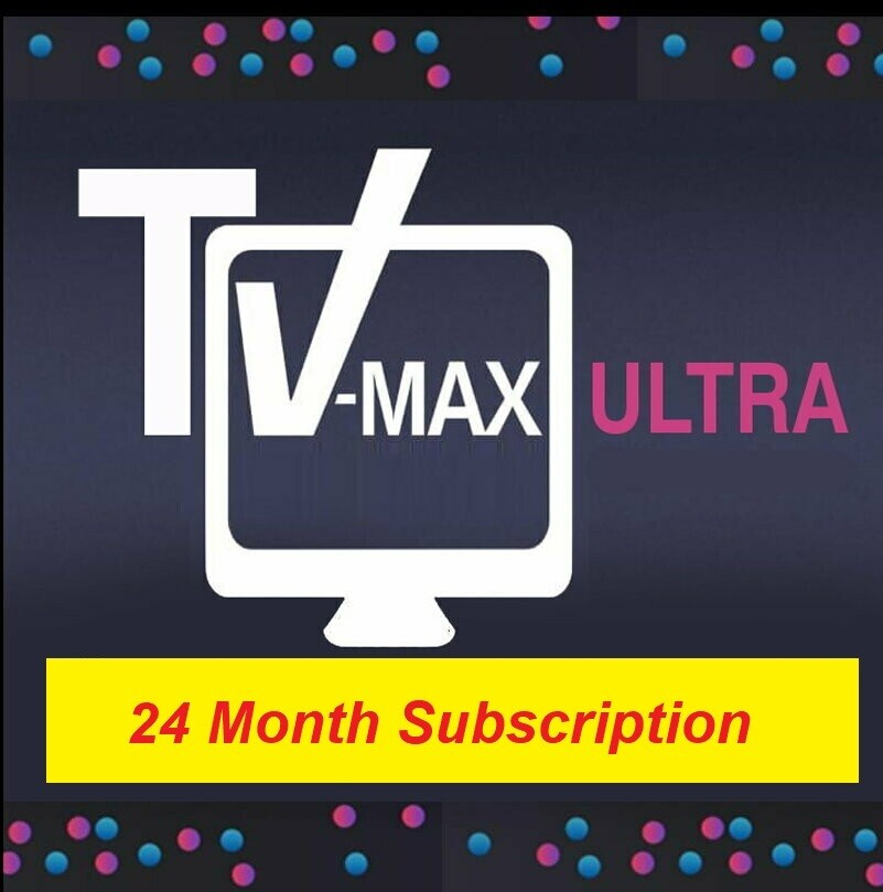 24 Months Vmaxtv subscription