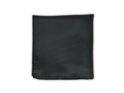 Essential Pocket Square - Black