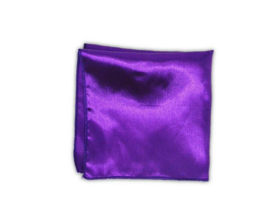 Essential Pocket Square - Purple