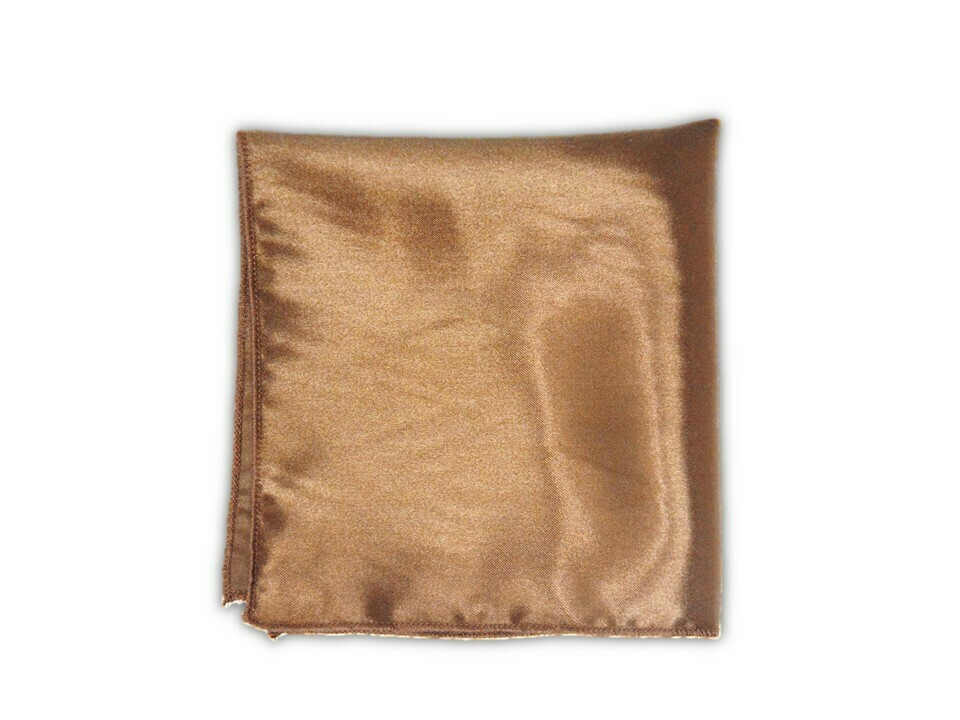 Essential Pocket Square - Brown