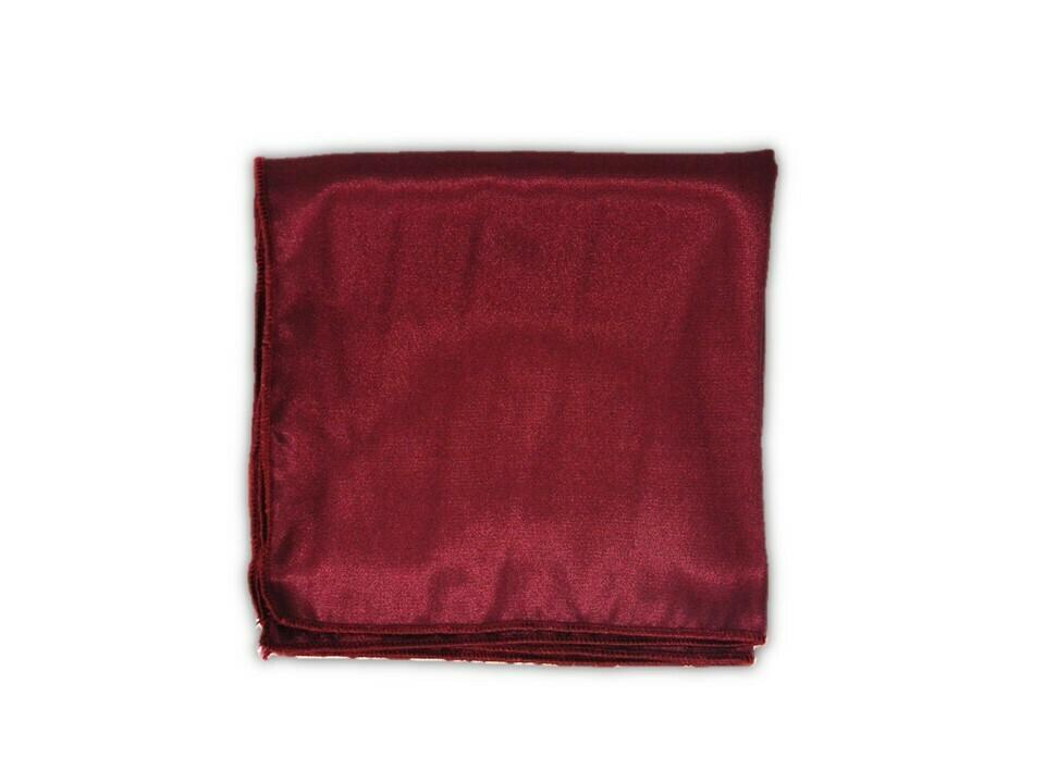 Essential Pocket Square - Burgundy