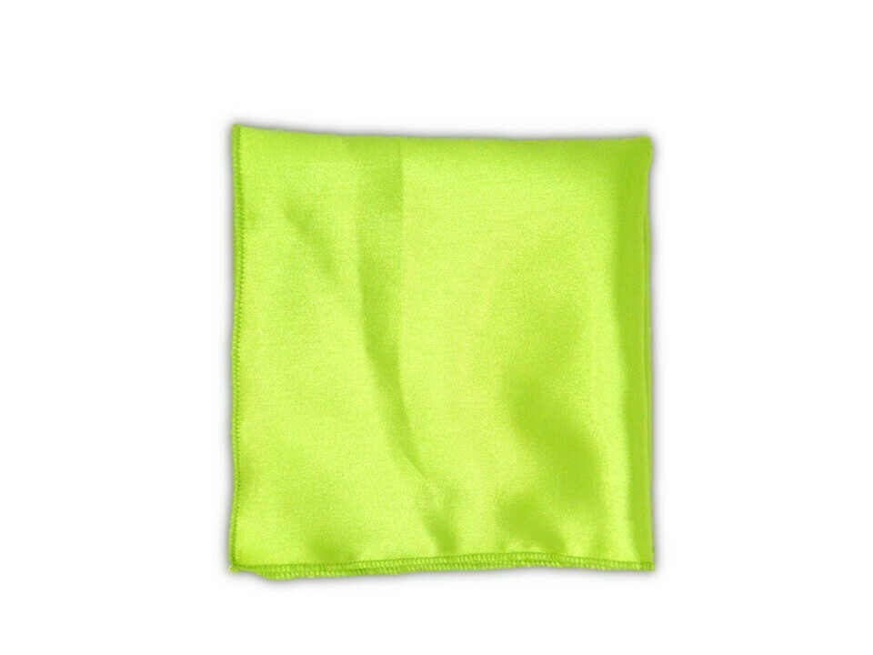 Essential Pocket Square - Lime
