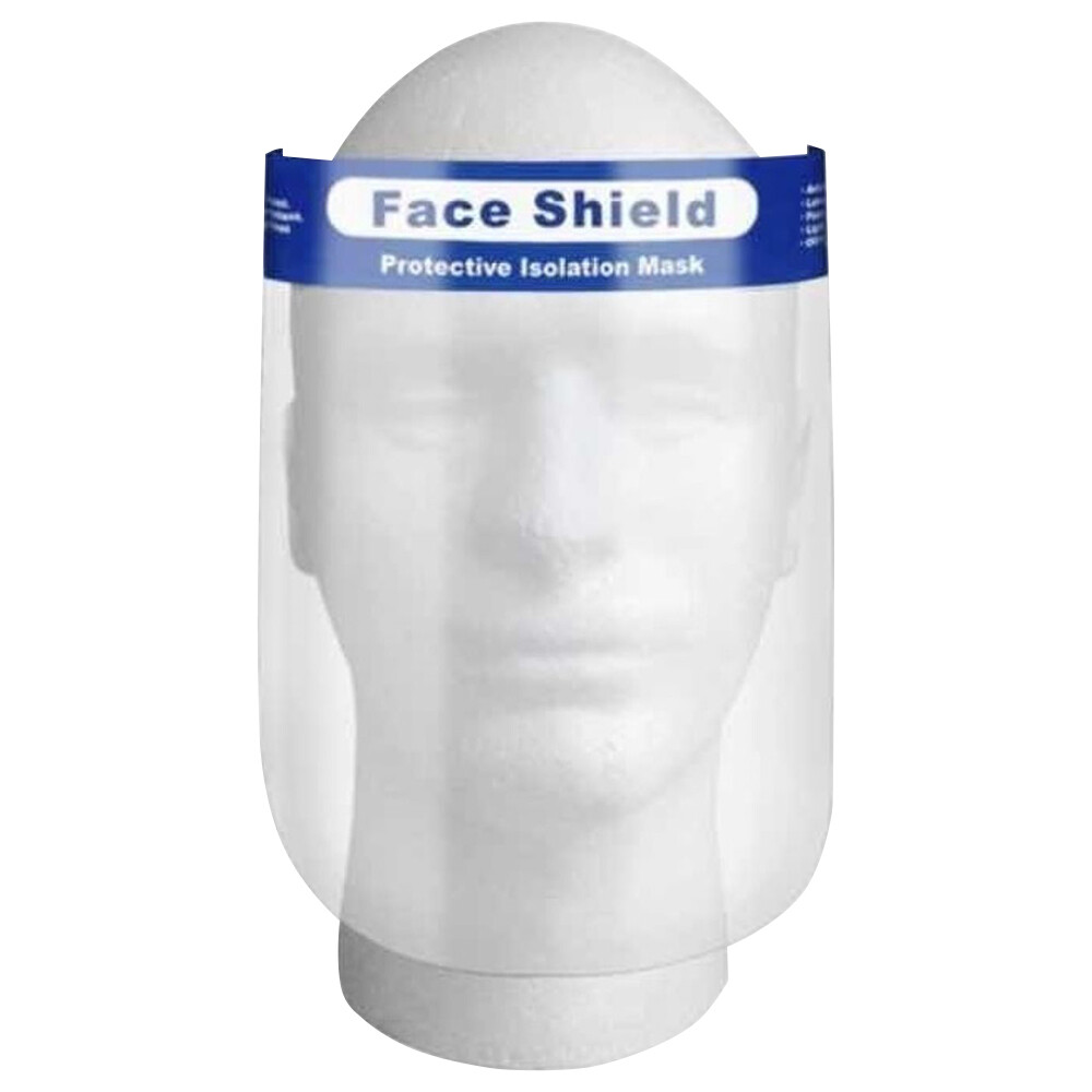 Face Shields - 10 Pack