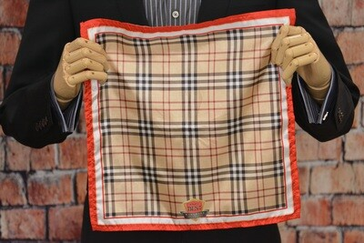 Premium Pocket Square - Burberry Inspired